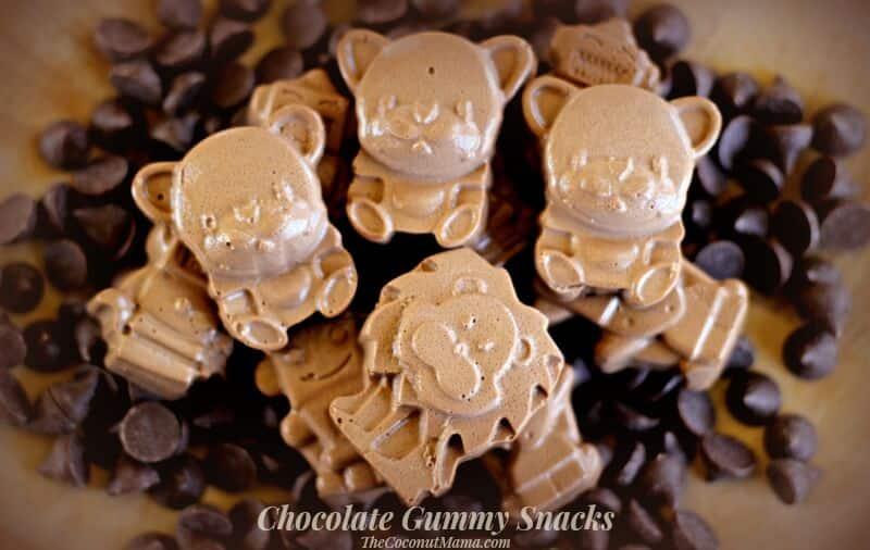 Chocolate Gummy Snacks