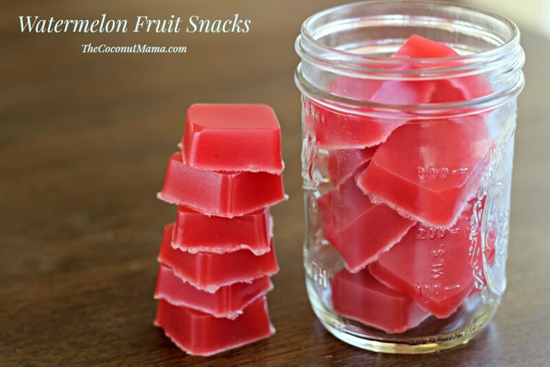 Watermelon Fruit Snacks