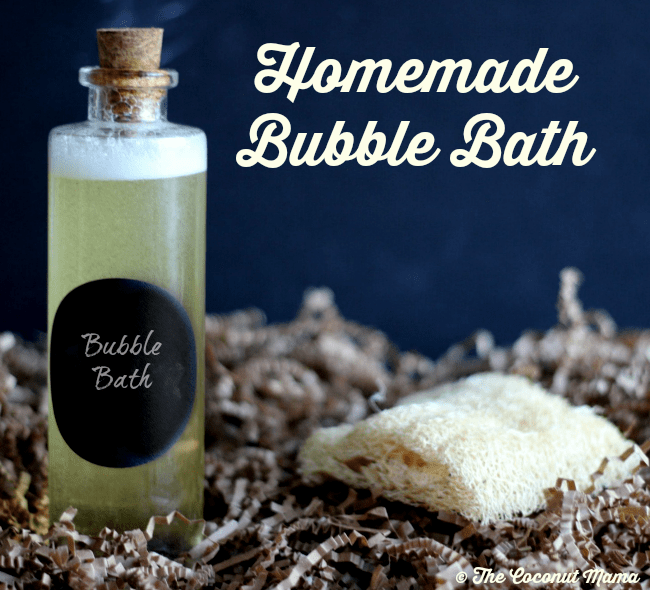 Homemade Bubble Bath Recipes