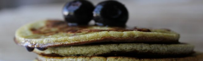 2 Ingredient Banana and Egg Pancakes from The Coconut Mama