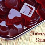 Cherry Fruit Snacks from The Coconut Mama