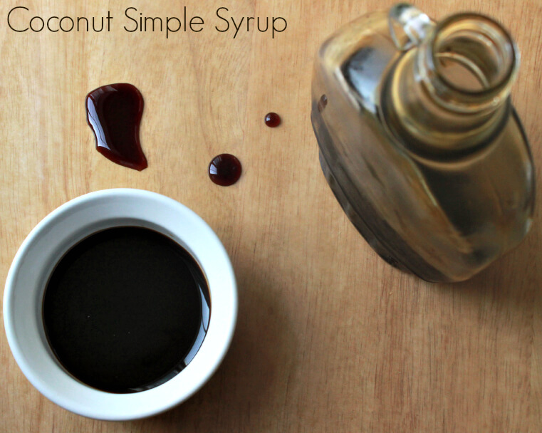 How to make simple syrup with coconut sugar