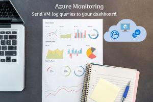 Dashboard for monitoring Azure virtual machine
