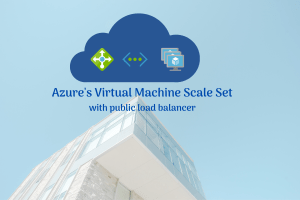 Azure virtual machines scale sets with load balancer