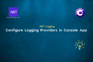 How To Enable Logging In .NET Console Applications