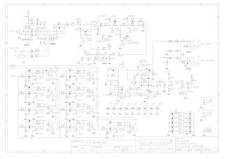 Schematics, Service manual or circuit diagram for Behriner