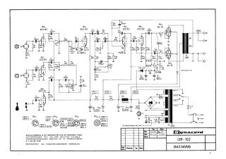 Schematics, Service manual or circuit diagram for Dynacord