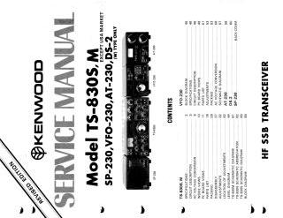 Schematics, Service manual or circuit diagram for Kenwood