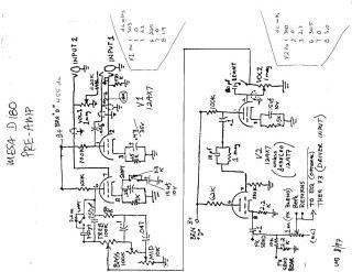 Schematics, Service manual or circuit diagram for Mesa