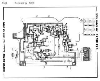 Schematics, Service manual or circuit diagram for National