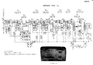 Schematics, Service manual or circuit diagram for