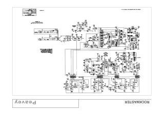 Schematics, Service manual or circuit diagram for Peavey