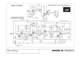 Schematics, Service manual or circuit diagram for Peavey
