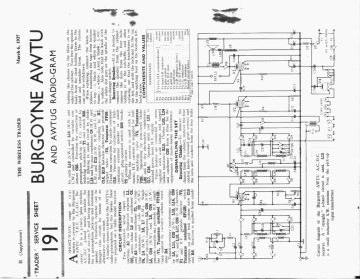 Schematics, Service manual or circuit diagram for Burgoyne