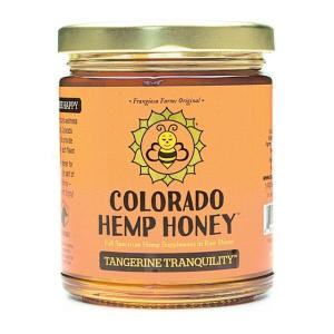 Tangerine Tranquility Honey 12 oz Jar
