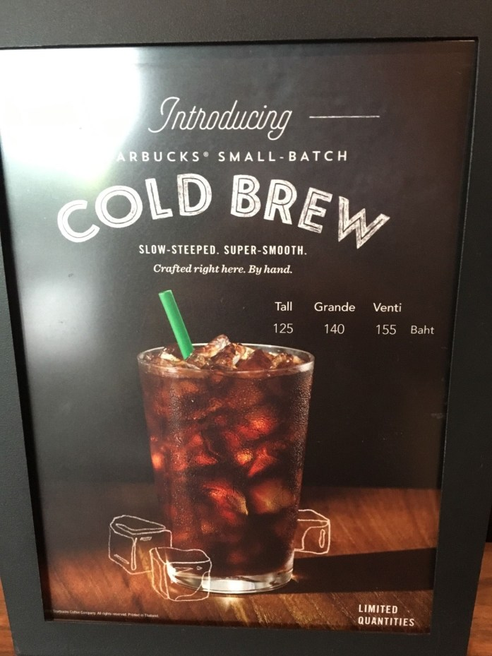cold brew กาแฟสกัดเย็น