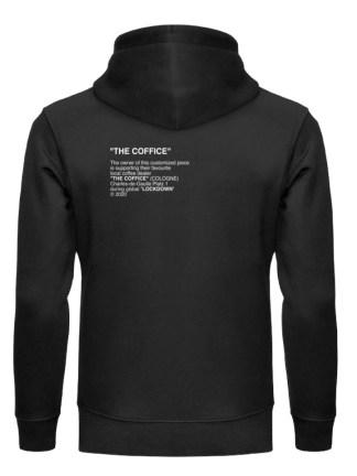 THE COFFICE #supportyourlocals - Unisex Organic Hoodie-16
