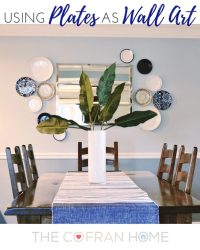 Using Plates as Wall Art - The Cofran Home