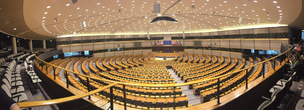 The European Parliament in all of its glory