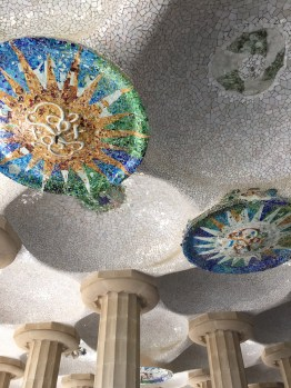 Gaudi's gorgeous architecture at Park Guell