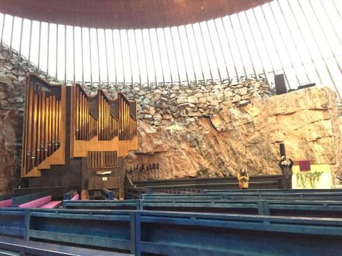 The rock church and its rock n' roll organ LOL