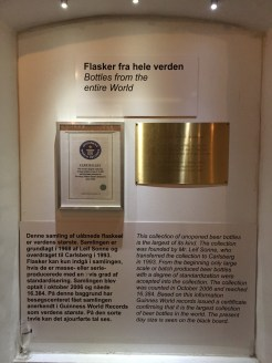 The info on Carlsberg's award winning collection of unopened beer