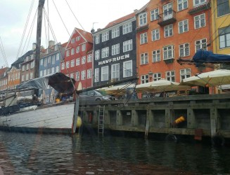 View of Nyhavn from the boat
