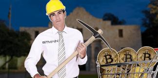 crypto mining facility in texas by Bitmain