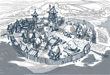 Fantasy Town Creation: Keeping your town on Theme The Collaborative Gamer