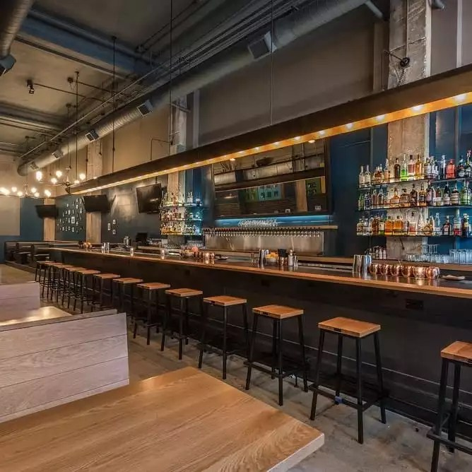 Restaurants Available in the Building - Brackshop Tavern -The Collection