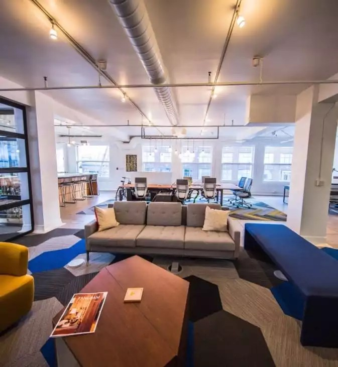 Beautiful Couches in Coworking Space - The Collection