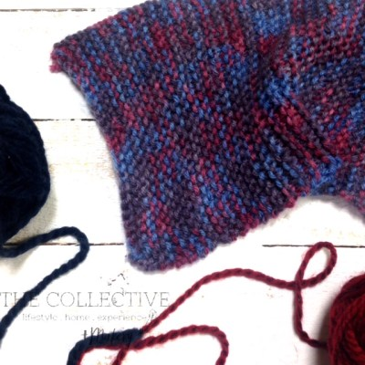 knitting workshop at The Collective lhe + Makery