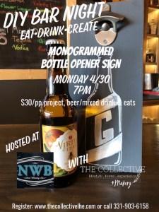 DIY bar night at NWB