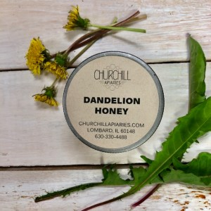 Local Dandelion Honey at The Collective lhe & Makery