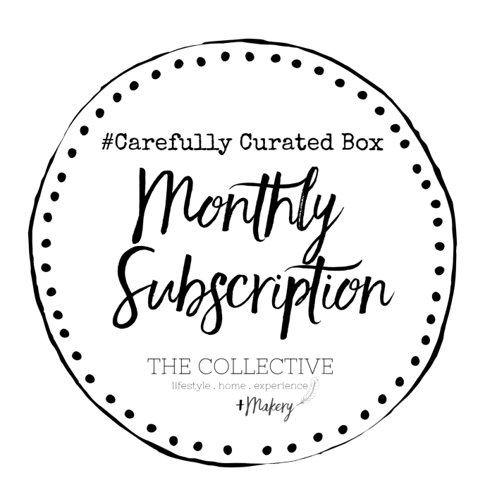 Monlthy Subscription box Carefully Curated