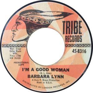 Barbara Lynn – I'm A Good Woman / Running Back
