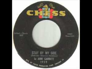 Jo Ann Garrett ‎– Stay By My Side / A Whole New Plan