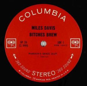 Miles Davis Bitches Brew ORIGINAL US pressing, two-eye stereo