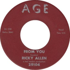 Ricky Allen – From You