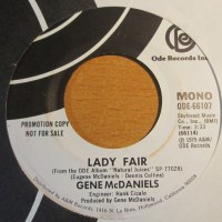 soul-GENE Mc DANIELS -lady fair