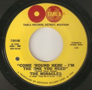 The Miracles-In the one you need