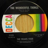 The Friars Four-The Wonderful Things RARE !