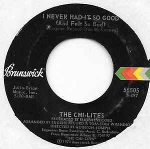 The Chi-Lites- Homely Girl
