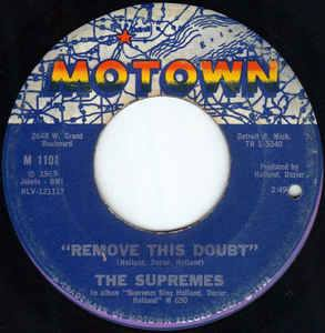 The Supremes - You Keep Me Hangin'On / Remove This Doubt