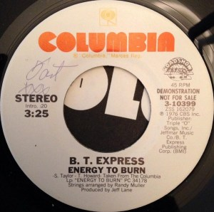 B. T. Express- Energy To Burn