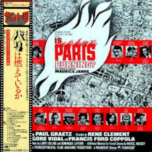 Maurice Jarre- Is Paris Burning (The Original Sound Track Recording)