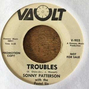 Sonny Patterson – Troubles