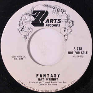 Nat Wright – Fantasy / Just For You