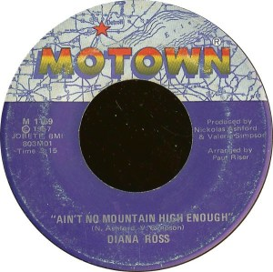 Diana Ross ‎– Ain't No Mountain High Enough / Can't It Wait Until Tomorrow