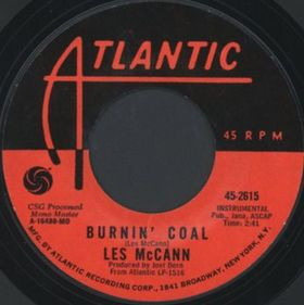 Les McCann- With These Hands/ Burnin'Coal